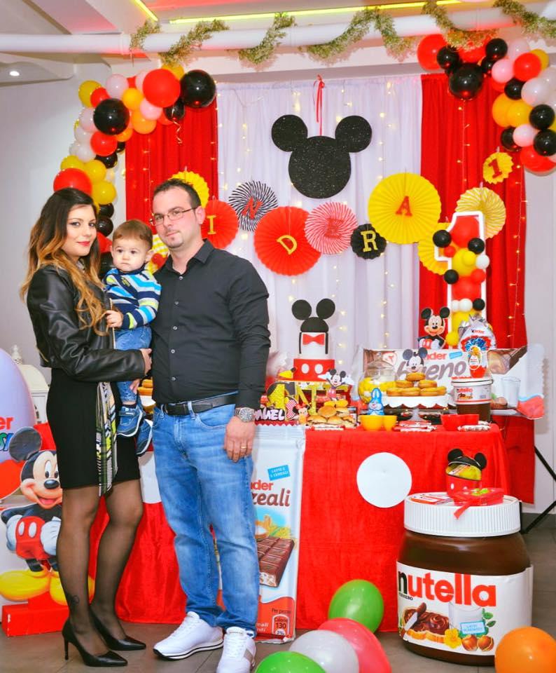 Festa Primo Compleanno Tema Topolino Palermo Villa Palermo