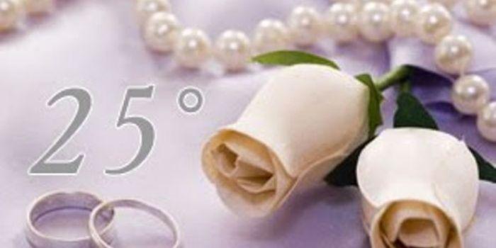 Xxv Anniversario Di Matrimonio.Auguri Anniversario Di Matrimonio 25 Anni
